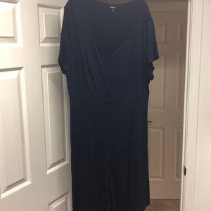Torrid size 3 faux button down dress